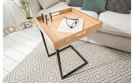 Table d'appoint Design CIARO BLACK OAK