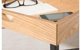 Tavolino d'appoggio di design CIARO BLACK OAK