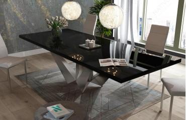 Designer Esstisch EXCALIBUR HOCHGLANZ  NATIVO™ Möbel Schweiz