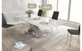Designer Esstisch AVALON HOCHGLANZ NATIVO™ Möbel Schweiz