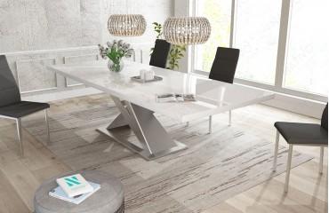 Tavolo da pranzo AVALON alta lucentezza NATIVO mobili sala da pranzo