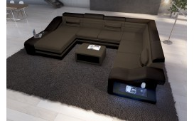 Designer Sofa MIRAGE XXL mit LED Beleuchtung AB LAGER
