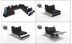 Designer Sofa SPACE XXL mit LED Beleuchtung NATIVO™ Möbel Schweiz