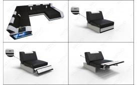 Designer Sofa MATIS 3+2+1 mit LED Beleuchtung NATIVO™ Möbel Schweiz