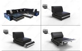 Designer Sofa CAREZZA MINI mit LED Beleuchtung NATIVO™ Möbel Schweiz