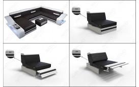 Designer Sofa MIRAGE 3+2+1 mit LED Beleuchtung NATIVO™ Möbel Schweiz