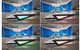 Canapé Design FALCO XXL DUO avec éclairage LED & port USB