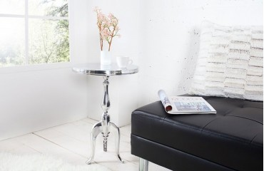 Table d'appoint Design RONDA SILVER