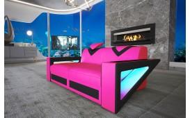 2 Sitzer Sofa FALCO mit LED Beleuchtung & USB Anschluss NATIVO™ Möbel Schweiz