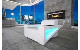 Fauteuil Design FALCO avec éclairage LED & port USB