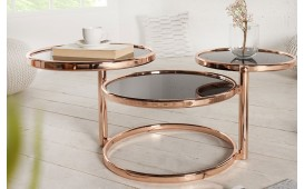 Table d'appoint Design TRIO BRONZE