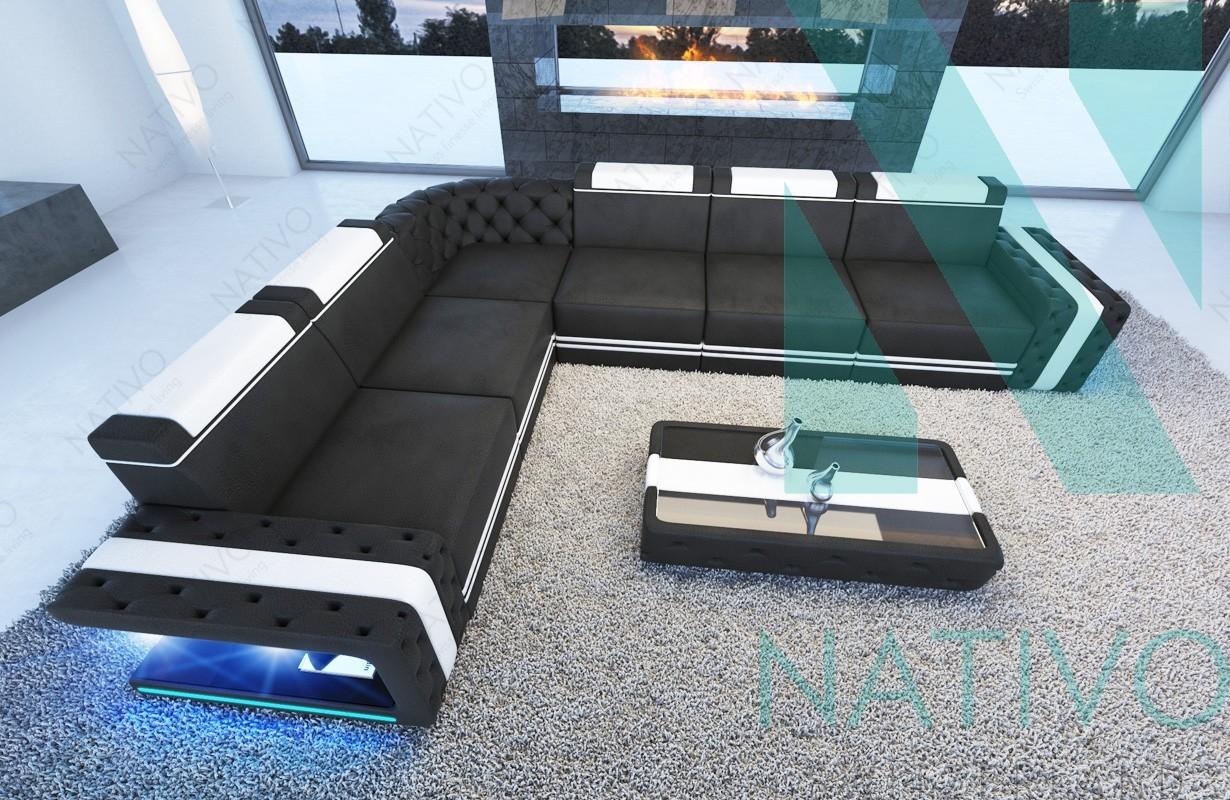 ledersofa imperial corner bei nativo m bel schweiz online kaufen. Black Bedroom Furniture Sets. Home Design Ideas