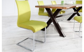 Chaise Design TANGO YELLOW - EN STOCK