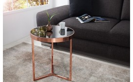 Table d'appoint Design ROND BLACK EN STOCK