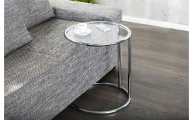 Table d'appoint Design CLASSICO SILVER