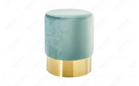 Tabouret Design ROCCO MINT GOLD 35 cm
