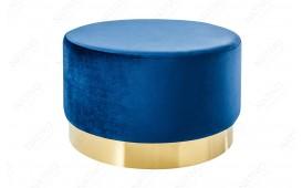 Tabouret Design  ROCCO BLUE GOLD 55 cm