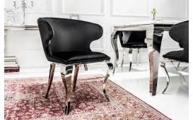 4 x Designer Stuhl ROCCO BLACK II