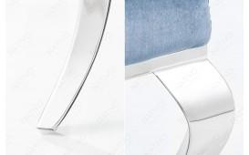 Chaise Design ROCCO BLUE