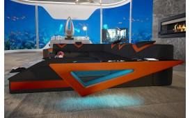 Divano di design FALCO XXL con illuminazione a LED e presa USB