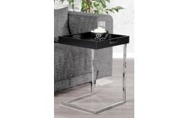 Tavolino d'appoggio di design CIARO BLACK