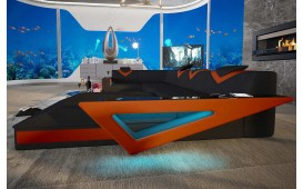Canapé Design FALCO XL avec éclairage LED & port USB