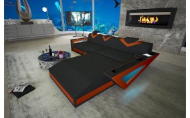 Canapé Design FALCO MINI avec éclairage LED & port USB