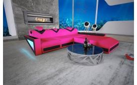 Designer Sofa FALCO MINI mit LED Beleuchtung & USB Anschluss NATIVO™ Möbel Schweiz