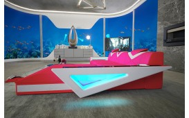 Divano di design FALCO MINI con illuminazione a LED e presa USB