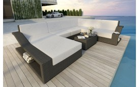 Canapé Lounge en rotin MIRAGE XXL
