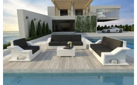 Set Lounge MIRAGE 3+2+1 in rattan