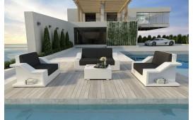 Set Lounge MIRAGE 2+1+1 in rattan