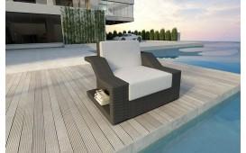 Poltrona Lounge MIRAGE in rattan