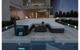 Divano Lounge AVENTADOR XXL in rattan