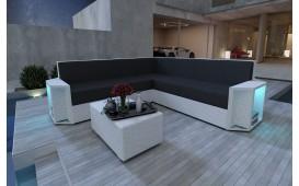 Canapé Lounge en rotin AVENTADOR CORNER