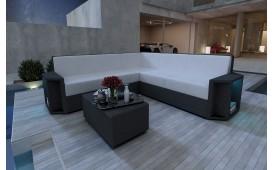 Designer Rattan Lounge Sofa AVENTADOR CORNER NATIVO™ Möbel Schweiz