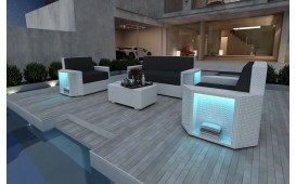 Rattan Lounge Set AVENTADOR  2+1+1 NATIVO™ Möbel Schweiz
