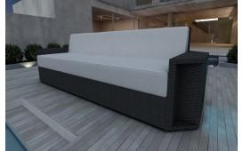Rattan Lounge Sofa AVENTADOR 3 Sitzer NATIVO™ Möbel Schweiz