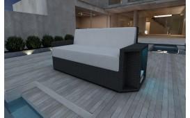Canapé 2 places en rotin AVENTADOR