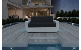 Rattan Lounge Sofa AVENTADOR 2 Sitzer NATIVO™ Möbel Schweiz