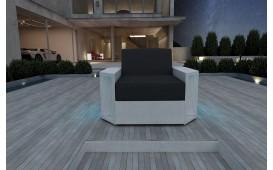 Rattan Lounge Sofa AVENTADOR 1 Sitzer NATIVO™ Möbel Schweiz