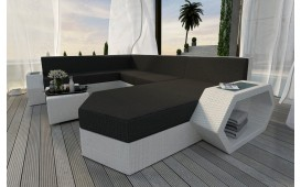 Divano Lounge CLERMONT XXL in rattan