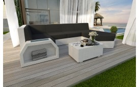Divano Lounge CLERMONT XL in rattan