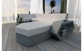 Canapé Lounge en rotin CLERMONT XL