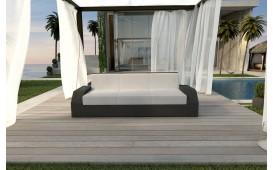 Rattan Lounge Sofa CLERMONT 3 Sitzer NATIVO™ Möbel Schweiz