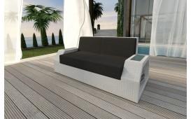 Rattan Lounge Sofa CLERMONT 2 Sitzer NATIVO™ Möbel Schweiz