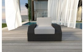 Rattan Lounge Sofa CLERMONT 1 Sitzer NATIVO™ Möbel Schweiz