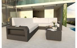 Canapé Lounge en rotin MESIA CORNER