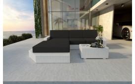 Canapé Lounge en rotin MESIA MINI