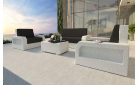 Rattan Lounge Set MESIA 2+1+1 NATIVO™ Möbel Schweiz
